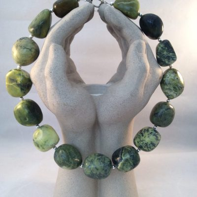 Serpentine necklace - n/a - n/a - by Jane Russell