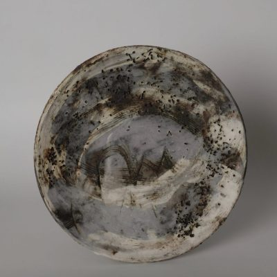 Plate 1 - Ceramic - 250 mm - by Jenny Murrell