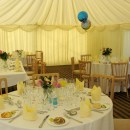 Marquee for 80th Birthday Party