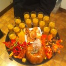 Pumpkin Soup at Halloween Party