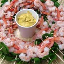 King prawn wedding canapes