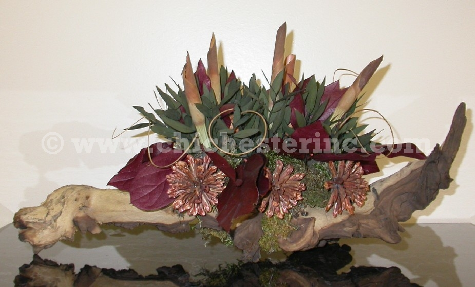 Driftwood Floral Displays or Arrangements