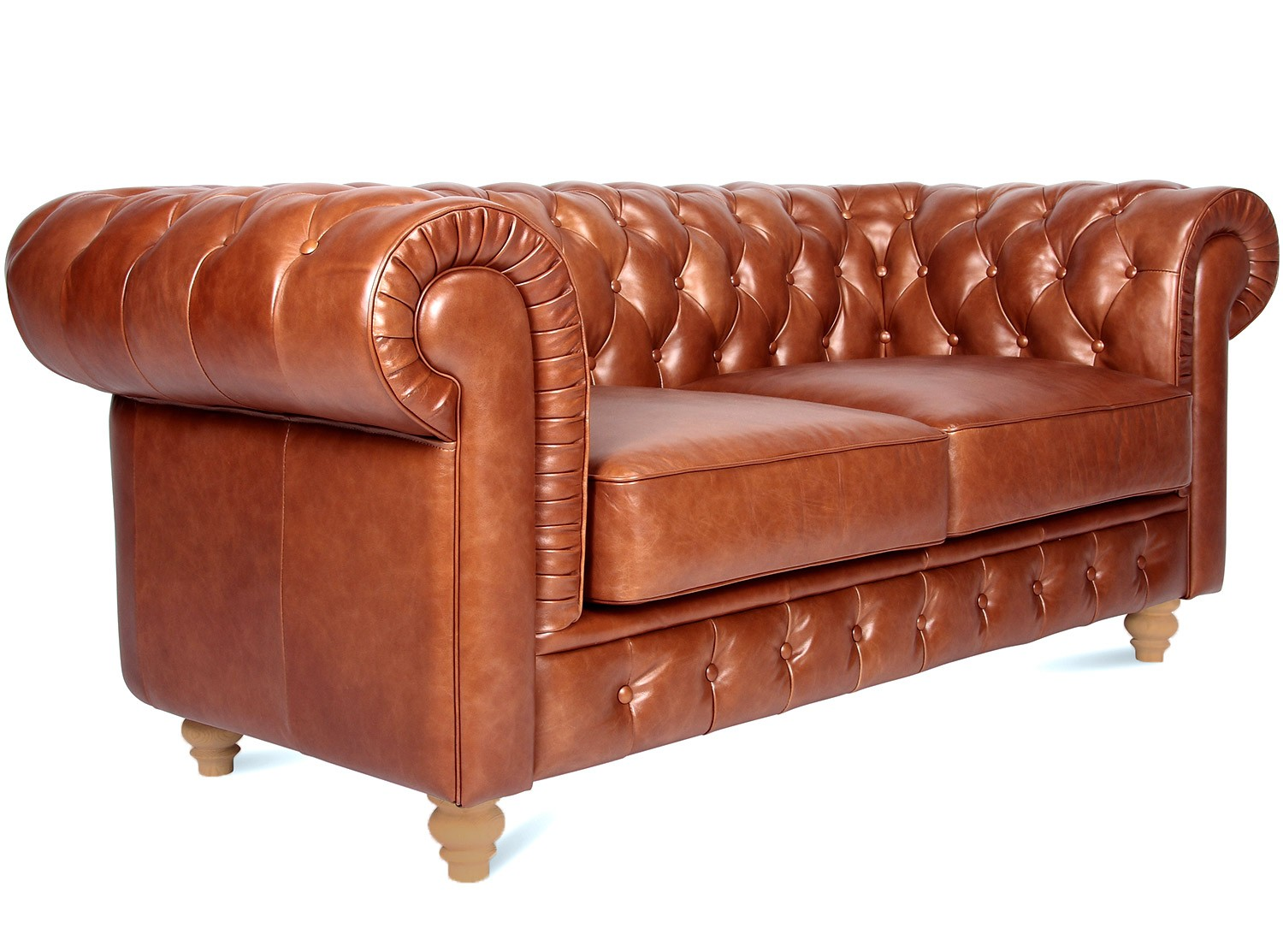 tan leather sofa bed australia beds world twickenham chesterfield 2 seater
