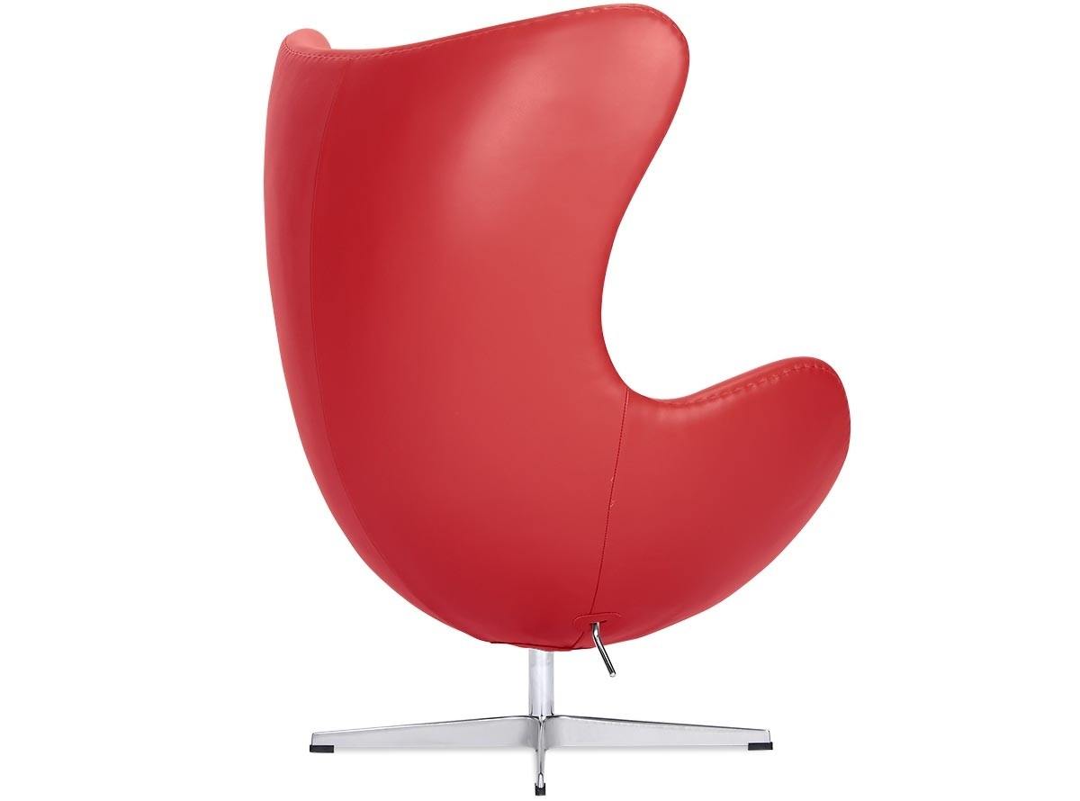 pink egg chair replica marcel breuer replacement seats by arne jacobsen leather platinum red
