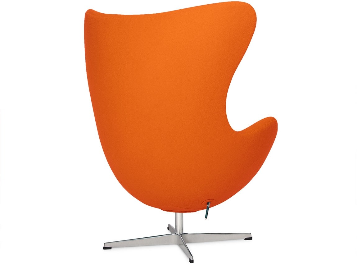 pink egg chair replica little tikes and table by arne jacobsen orange platinum