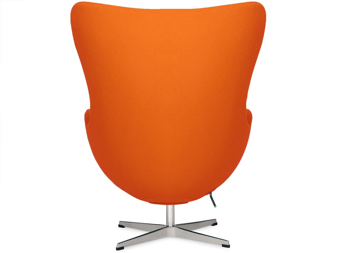 pink egg chair replica how to clean leather by arne jacobsen orange platinum