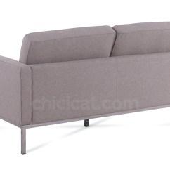 Replica Florence Knoll Sofa Nz Violet Velvet 2 Seater Platinum
