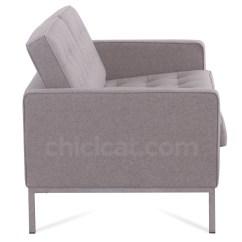 Replica Florence Knoll Sofa Nz Star Pune 2 Seater Wool Platinum