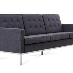 Sofa Florence Knoll Replica Ellis Dfs 3 Seater Platinum