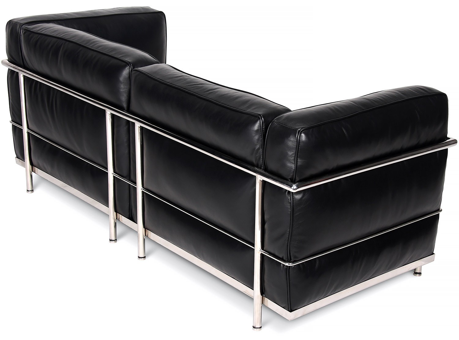 le corbusier sofa replica living room ideas with dark gray lc3 2 seater grand confort collector