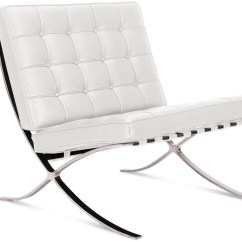 Barcelona Chair Used Covers Party Hire By Mies Van Der Rohe Platinum Replica