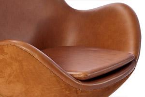 Egg Chair by Arne Jacobsen Platinum Replica