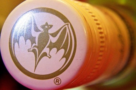 Bacardi Bat on Bottle Cap