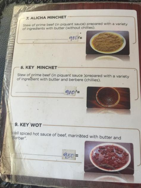 Habesha Restaurant Nairobi Menu - Page 3