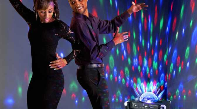 Dancing in Nairobi. It could be Dolce Club Nairobi or Soho's