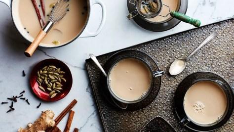 Chai overlay including Osang Tea (Equatorial Guinea)