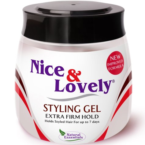 nice and lovely styling gel for natural hair
