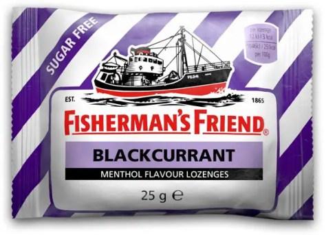 Fisherman Friends / Fisherman's Friend Blackcurrant Sugar Free