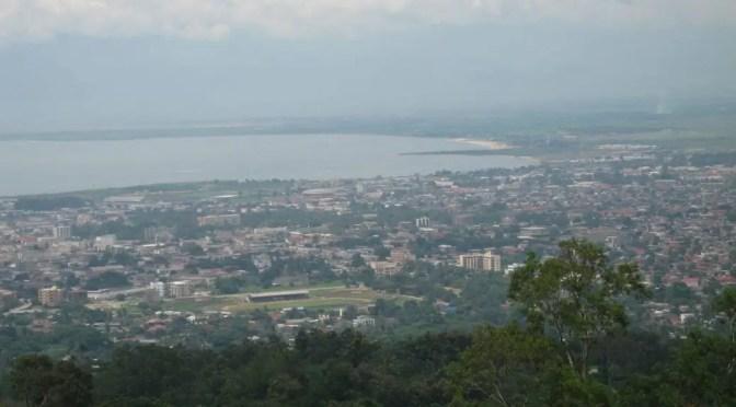 Aerial View of Bujumbura, Burundi