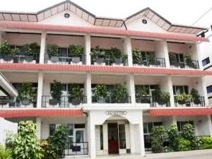 Shammah Hotel Facade, Bujumbura, Burundi