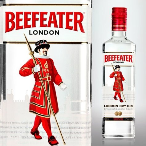 Gordons vs Beefeater: Beefeater gin