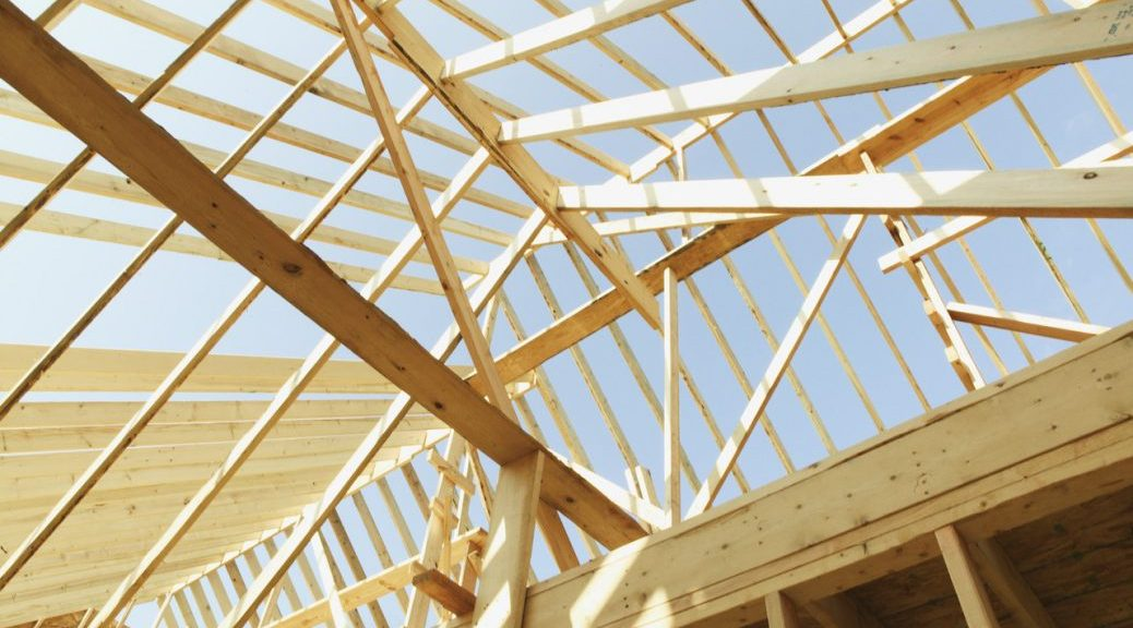 Building your own house - wooden structure