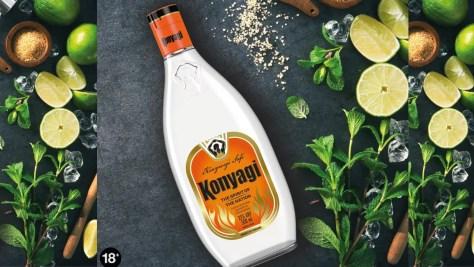 Konyagi bottle new branding