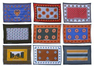 African kanga cloth