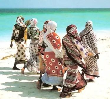 Women in Kanga
