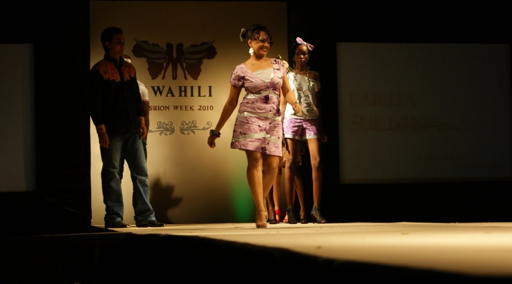 Farha Sultan at Swahili Fashion Week 2010 Day 1