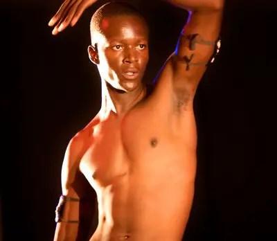 A male dancer at Visa 2 Dance Contemporary Dance Festival