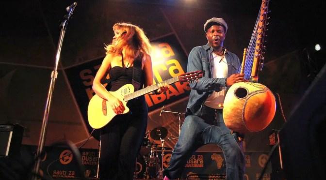 Sousou & Maher at Sauti za Busara 2013 - not Swahili music at all