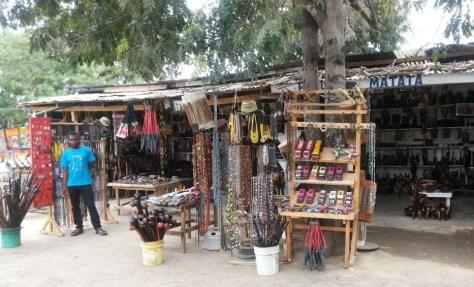 Crafts at Kobil Restaurant, Chalinze