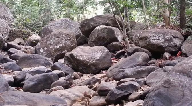 Rocks at Rock Garden Restaurant in Morogoro