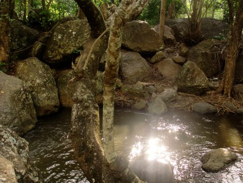 Water and Rocks at the Rock Garden in Morogoro