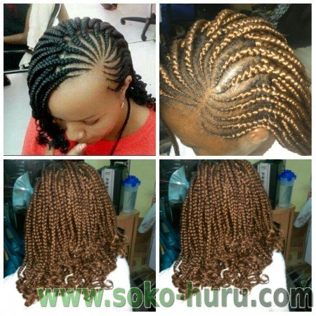 Abuja Lines Styles In Kenya Kenyan Hair Styles Amp Braids