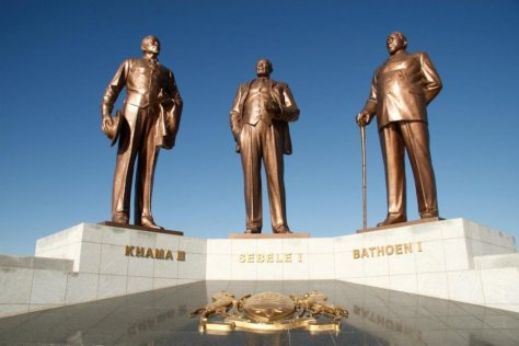 Three Dikgosi (Chiefs) Monument