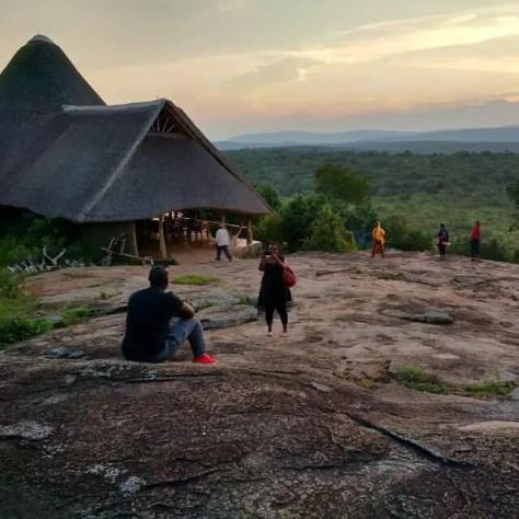 Me and Rwotsyana, Rwakobo Rock, Uganda