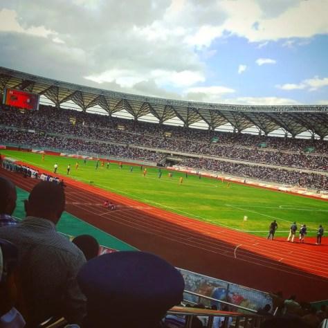 Tanzania vs. La Côte d'Ivoire, Tanzania National Main Stadium, Dar es Salaam,Tanzania