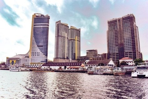 Dar es Salaam downtown waterfront