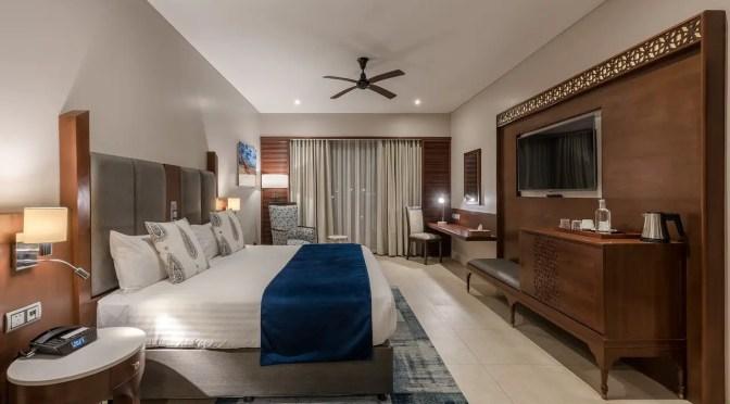 A room at the Bakresa Hotel Zanzibar
