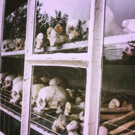 Genocide Memorial at St. Jean Catholic Church and Home Complex in Kibuye, Rwanda