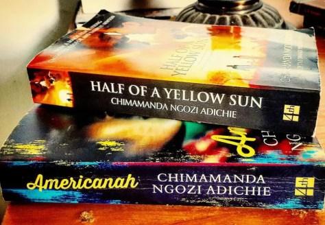 Books by Acclaimed Nigerian Author Chimamanda Ngozi Adichie