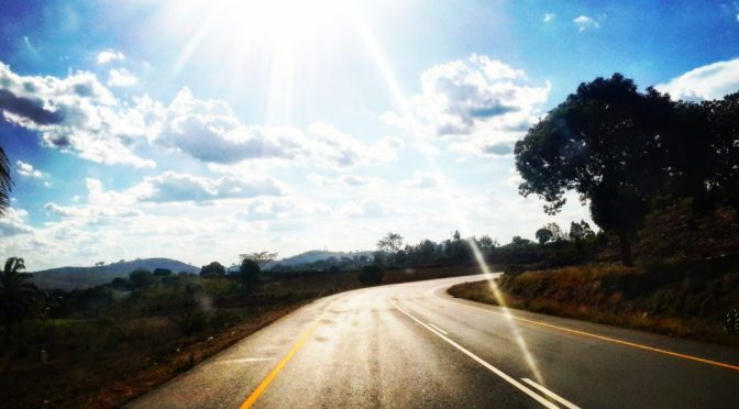 Driving through Korogwe, Tanzania