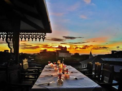 Tea House Restaurant at the Emerson on Hurumzi, Zanzibar, Tanzania