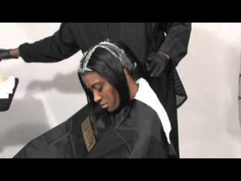 Retouching the growth of your relaxed hair