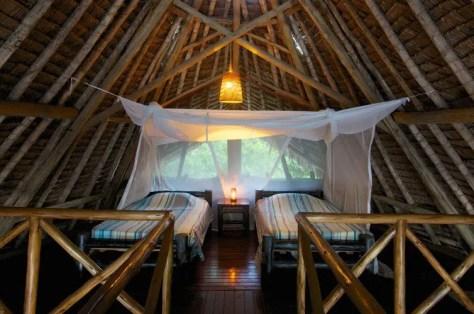 Bagamoyo Hotels: Twin room at Lazy Lagoon Island Lodge