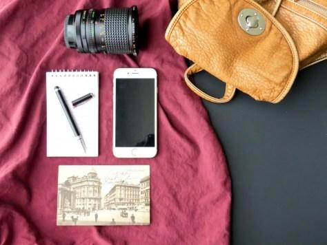 Camera Bag Phone Overlay