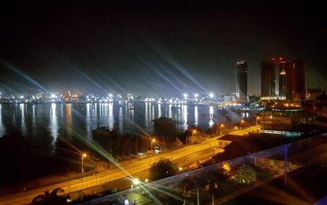 Dar es Salaam Harbour from Level 8