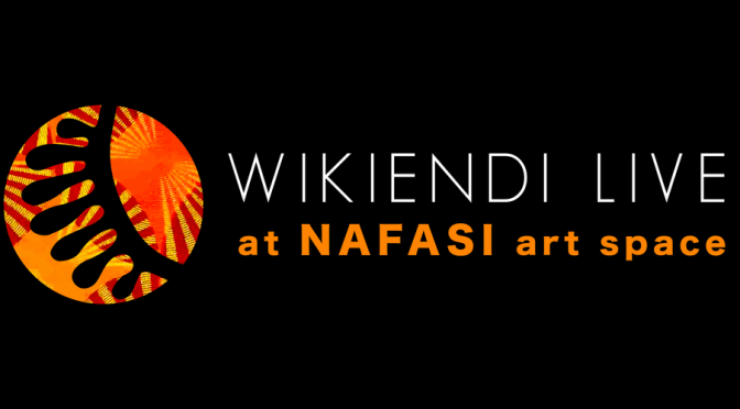 Weekend Cultural Event: Wikiendi Live is Back!